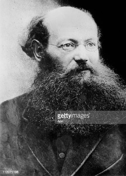 Prince Peter Kropotkin zoologist an evolutionary theorist geographer and one of the world's foremost anarchocommunists c 1890