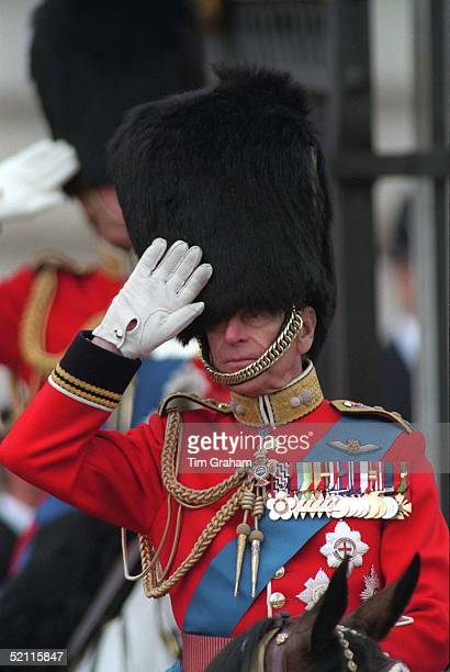 Prince Philip At Trooping The Colour.