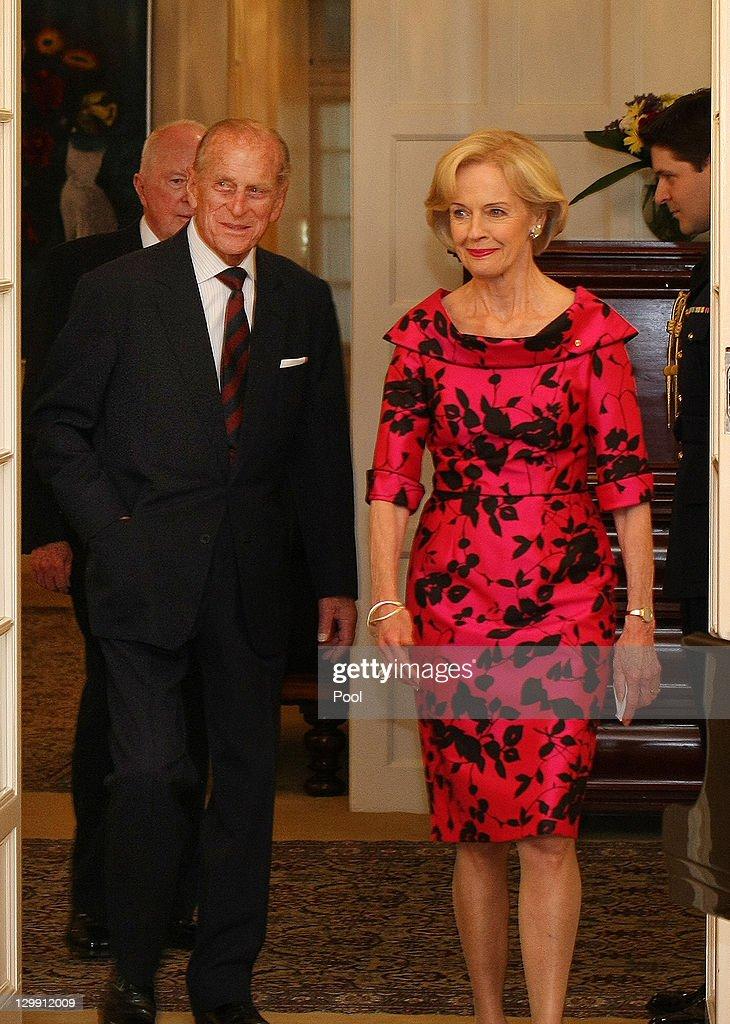 Queen Elizabeth II And Duke of Edinburgh Visit Australia - Day 4