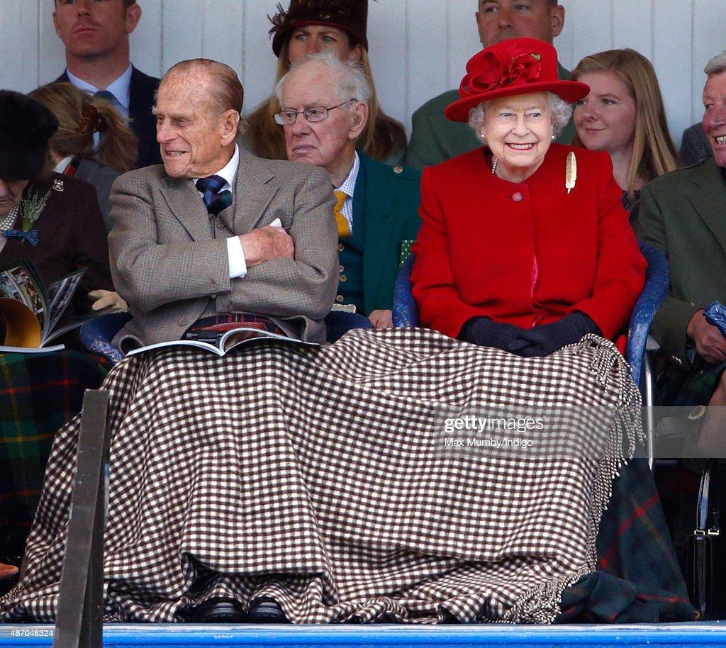 The 2015 Braemar Highland Gathering : News Photo