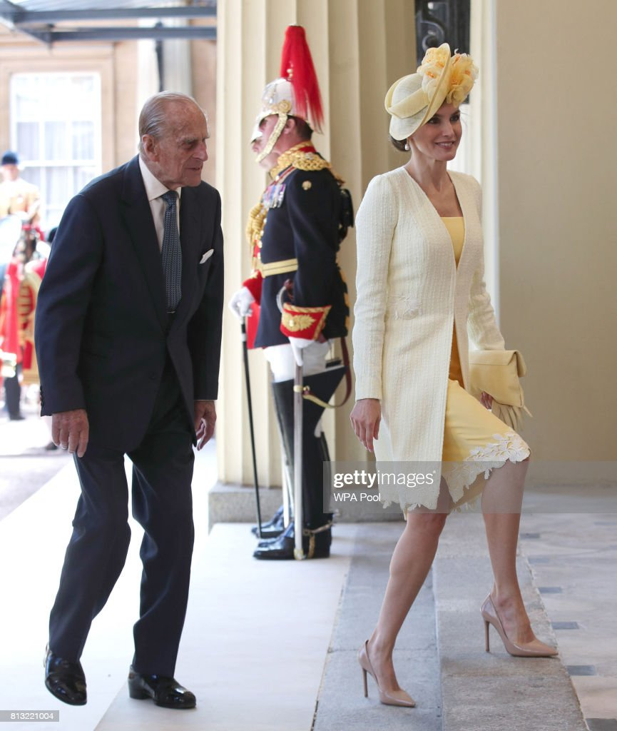 State Visit Of The King And Queen Of Spain - Day 1 : Nachrichtenfoto