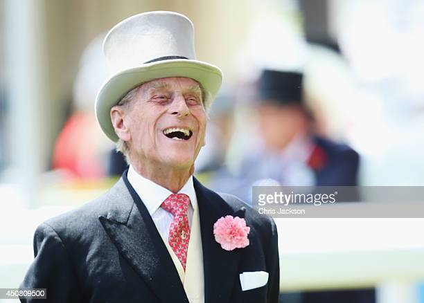 Prince Philip, Duke of Edinburgh attends day two of Royal Ascot at Ascot Racecourse on June 18, 2014 in Ascot, England.