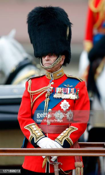 Prince Philip, Duke of Edinburgh attends the annual Trooping the Colour Parade on June 16, 2007 in London, England. Trooping the Colour is an annual...