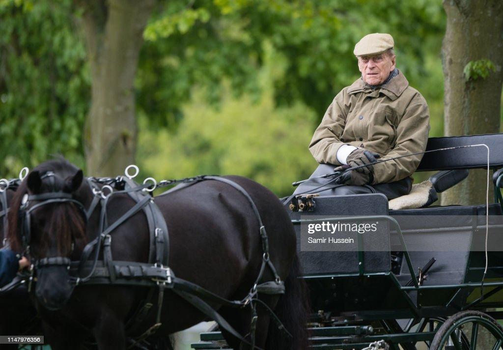 Royal Windsor Horse Show 2019 : Nachrichtenfoto
