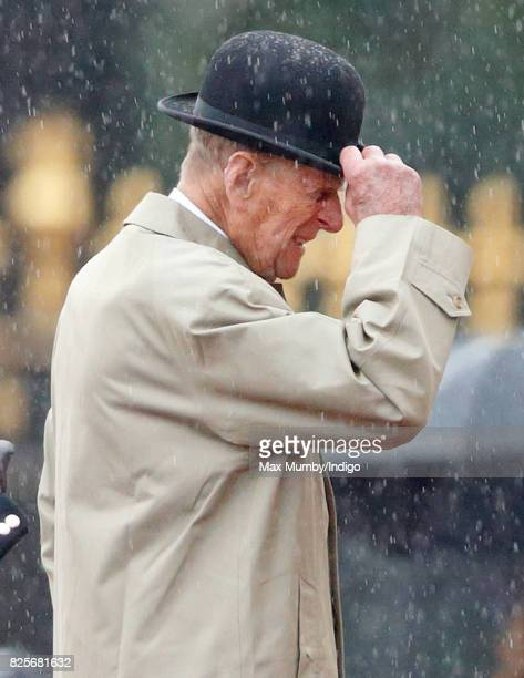 Prince Philip Duke of Edinburgh attends the The Captain General's Parade to mark the finale of the 1664 Global Challenge at Buckingham Palace on...