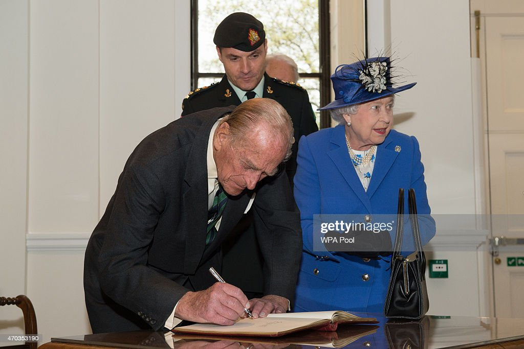 The Queen, Duke Of Edinburgh And Princess Alexandra Attend Reception At Canada House : News Photo