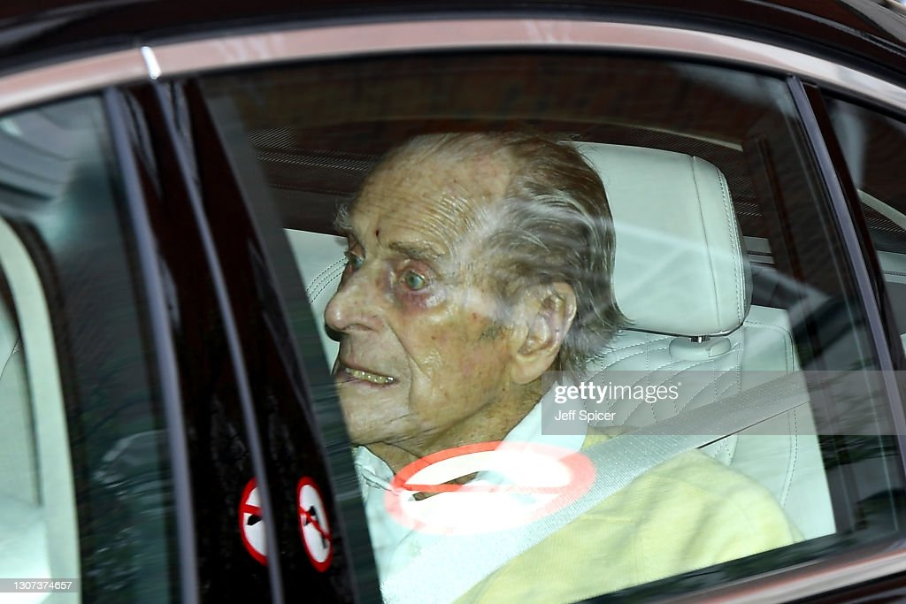 Prince Philip Departs King Edward VII's Hospital In London : News Photo