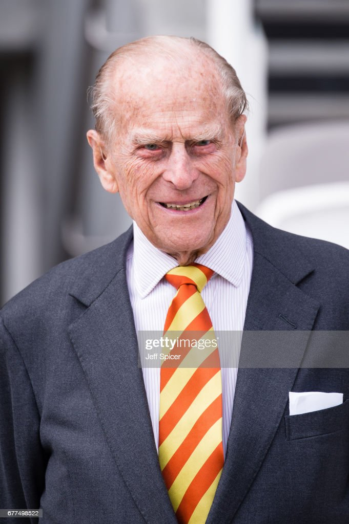 Prince, Philip, Duke of Edinburgh opens the new Warner Stand at Lord's Cricket Ground on May 3, 2017 in London, England. The Duke of Edinburgh is an honorary Life Member of Marylebone Cricket Club.