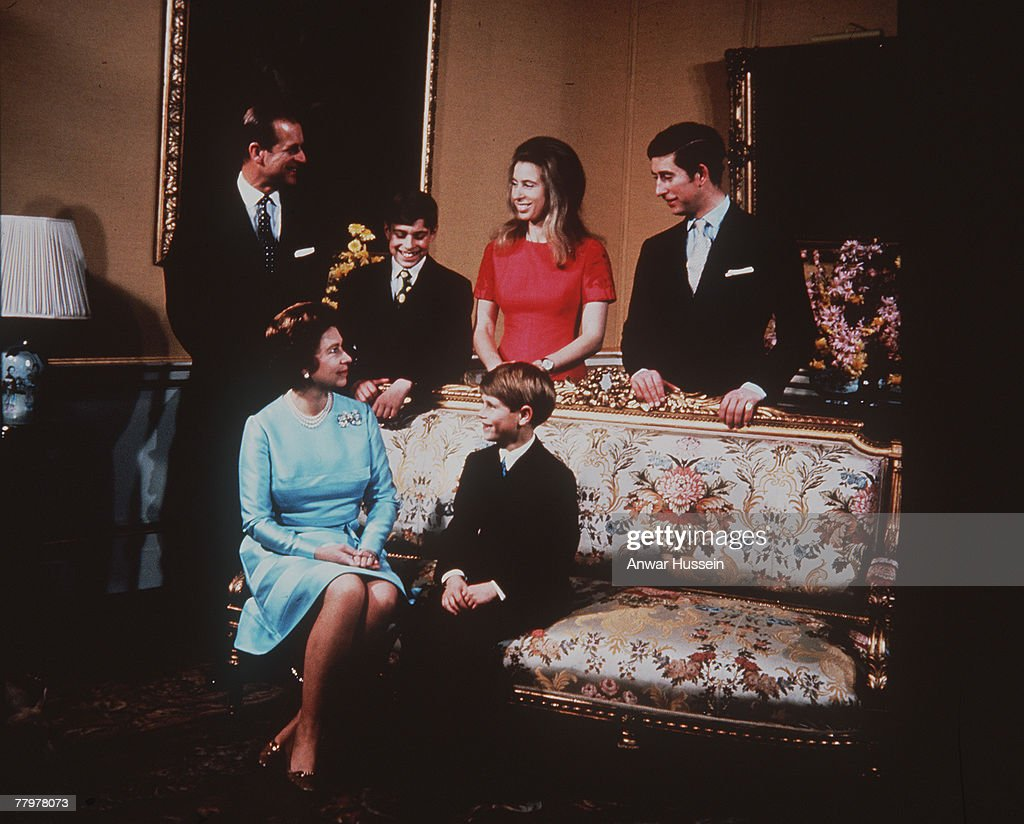 The Royal Family Portrait - 1960s : ニュース写真