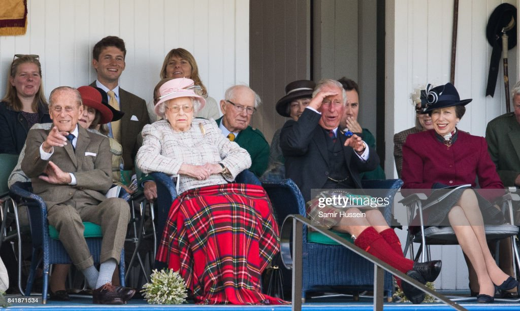 The 2017 Braemar Highland Gathering : News Photo