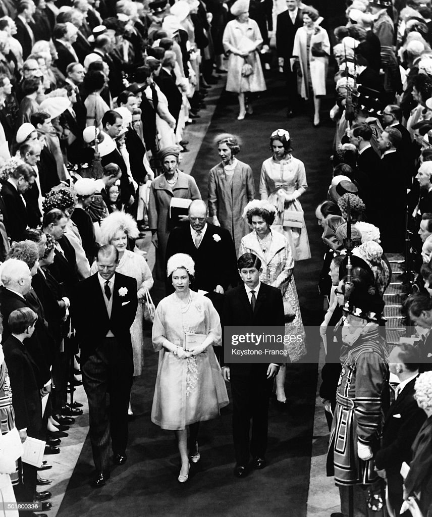 Wedding Of Princess Alexandra Of Kent With The Honourable Angus Ogilvy At Westminster Abbey : News Photo