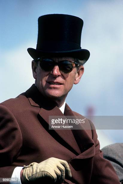 Prince Philip Duke of Edinburgh takes part in the World Carriage Driving Championships at Windsor Great Park on September 30 1980 in Windsor England