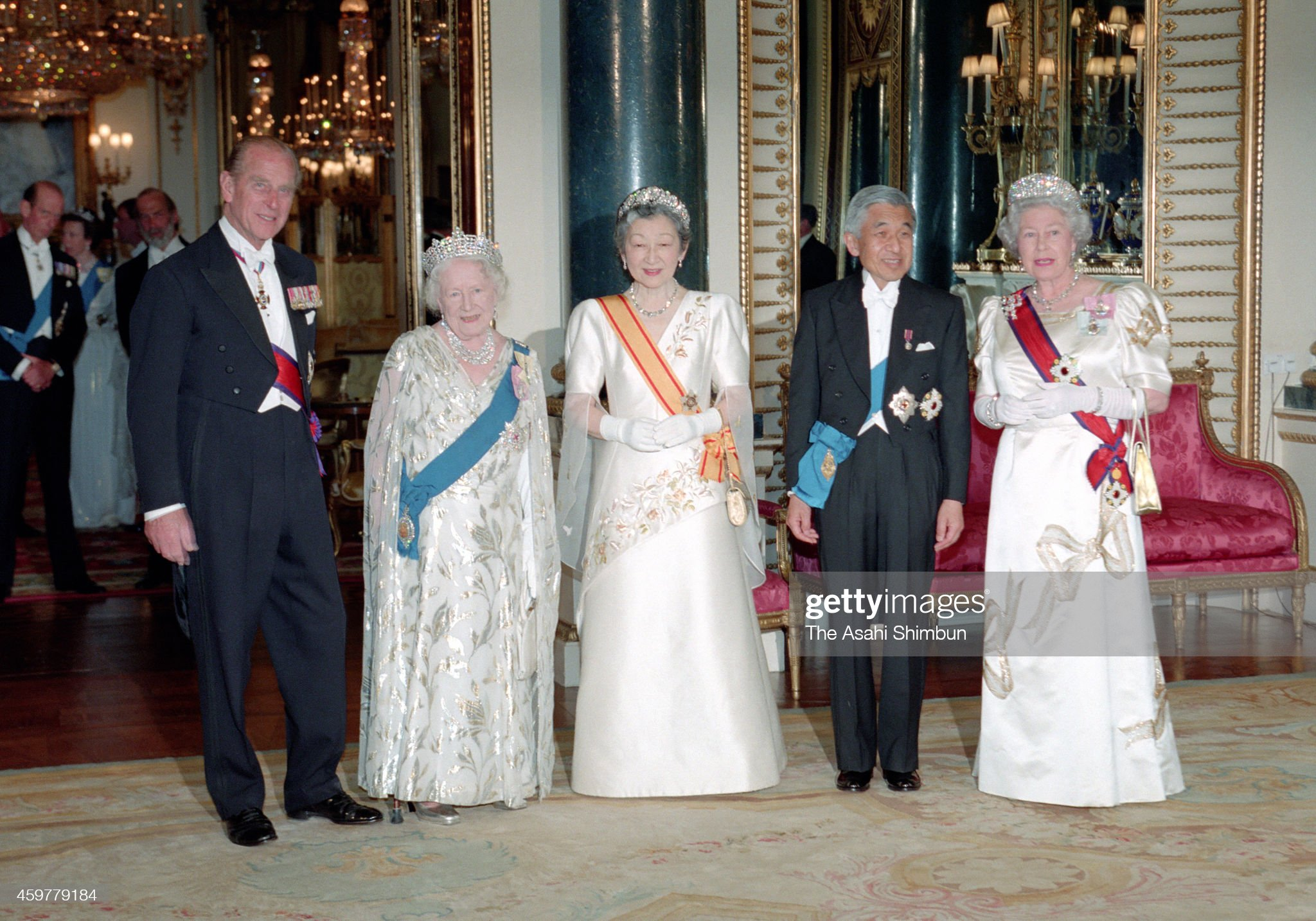 Emperor Akihito And Empress Michiko Visit UK : News Photo