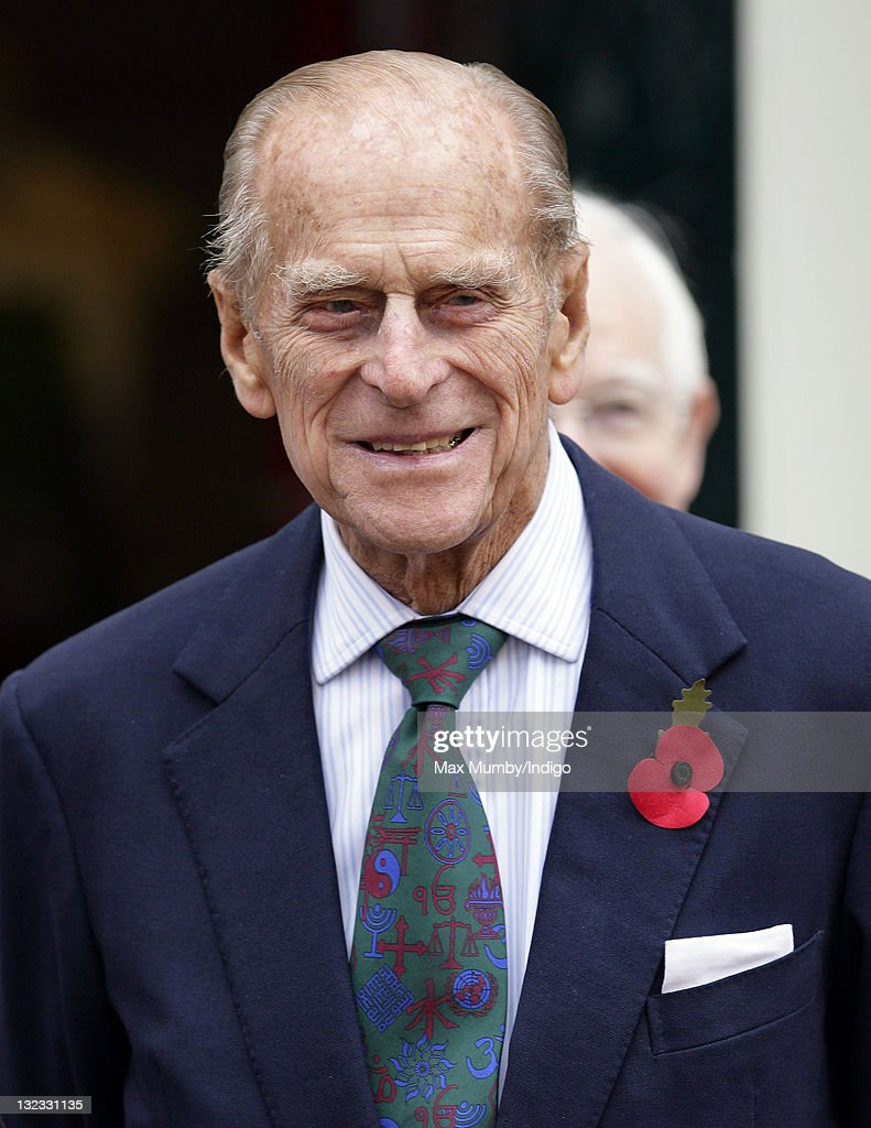 Prince Philip, Duke of Edinburgh visits Margate old town on November 11, 2011 in Margate, England.