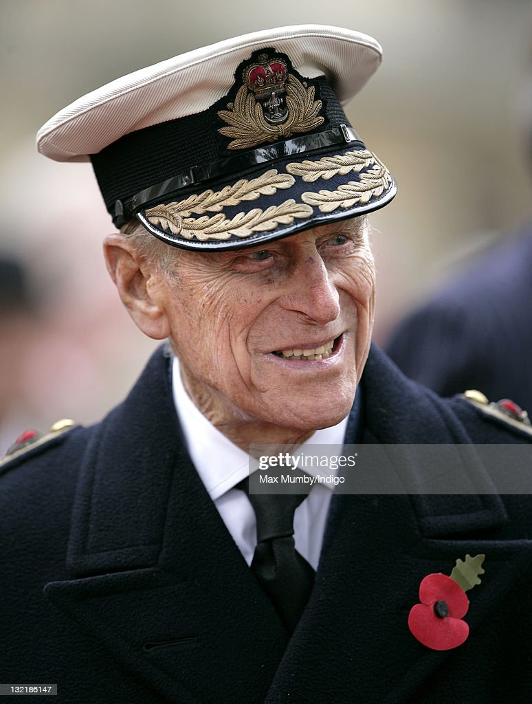 Prince Philip, Duke of Edinburgh visits the Field of Remembrance at Westminster Abbey on November 10, 2011 in London, England. The First Royal British Legion Poppy Appeal was launched 90 years ago.