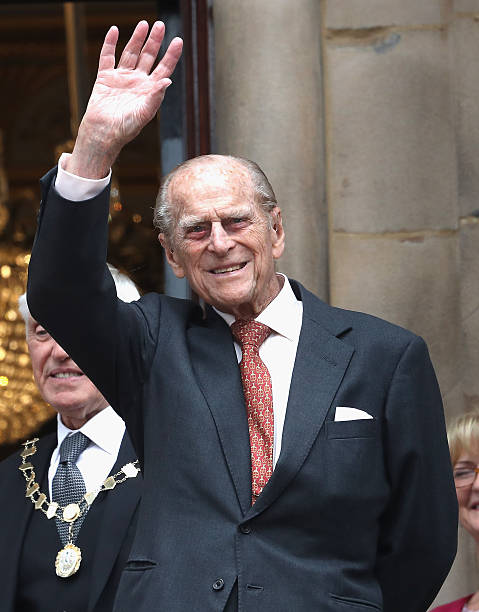The Queen And Duke Of Edinburgh Visit Liverpool Photos and ...