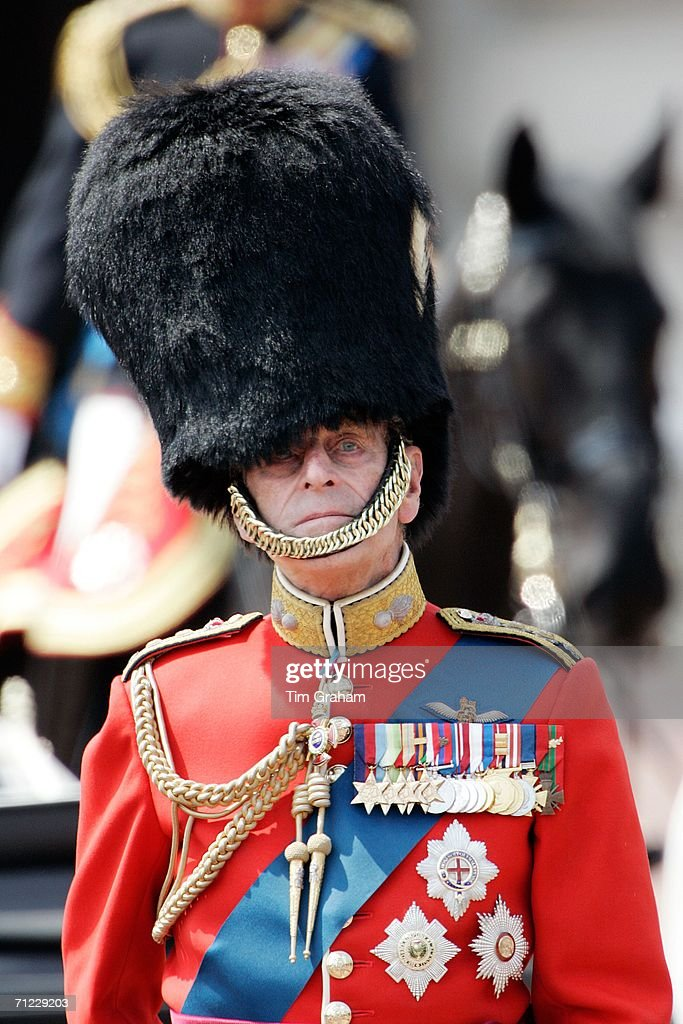 Prince Philip At Trooping The Colour : News Photo