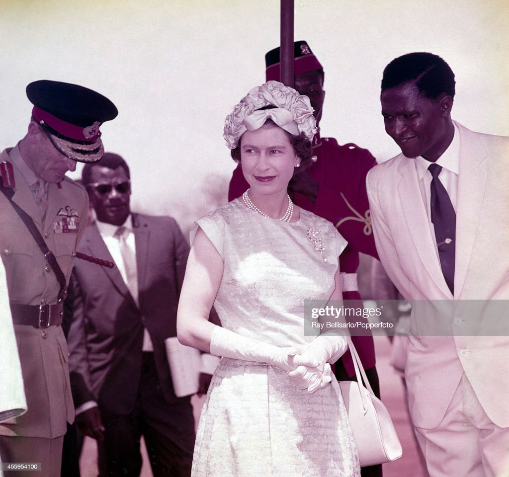 Queen Elizabeth II Visits Ghana : News Photo