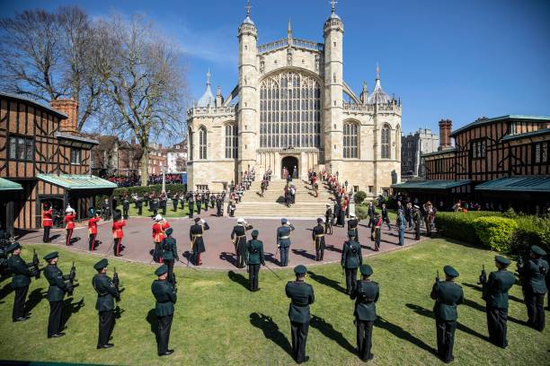 GBR: The Funeral Of Prince Philip, Duke Of Edinburgh Is Held In Windsor