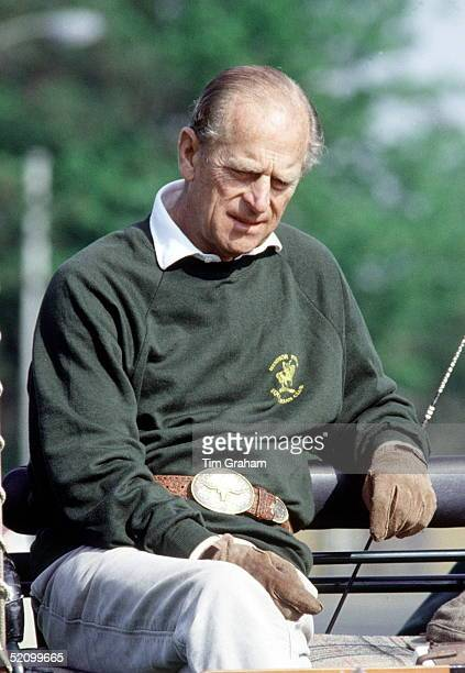 Prince Philip Looking Tired After Competing At The Royal Windsor Horse Show Berkshire