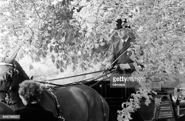 Prince Philip May 1981 At Royal Windsor Horse Show 7th May 1981