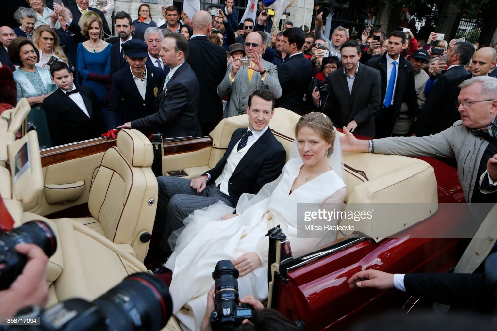 Wedding Of Prince Philip Of Serbia And Danica Marinkovic In Belgrade : News Photo