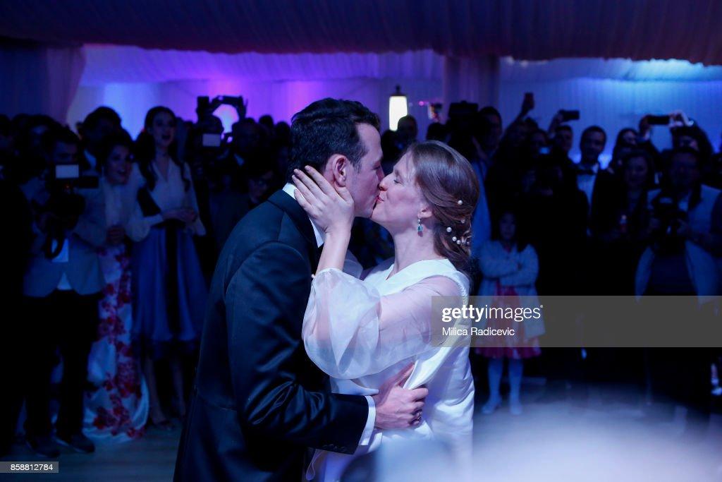 Wedding Of Prince Philip Of Serbia And Danica Marinkovic In Belgrade : Nachrichtenfoto