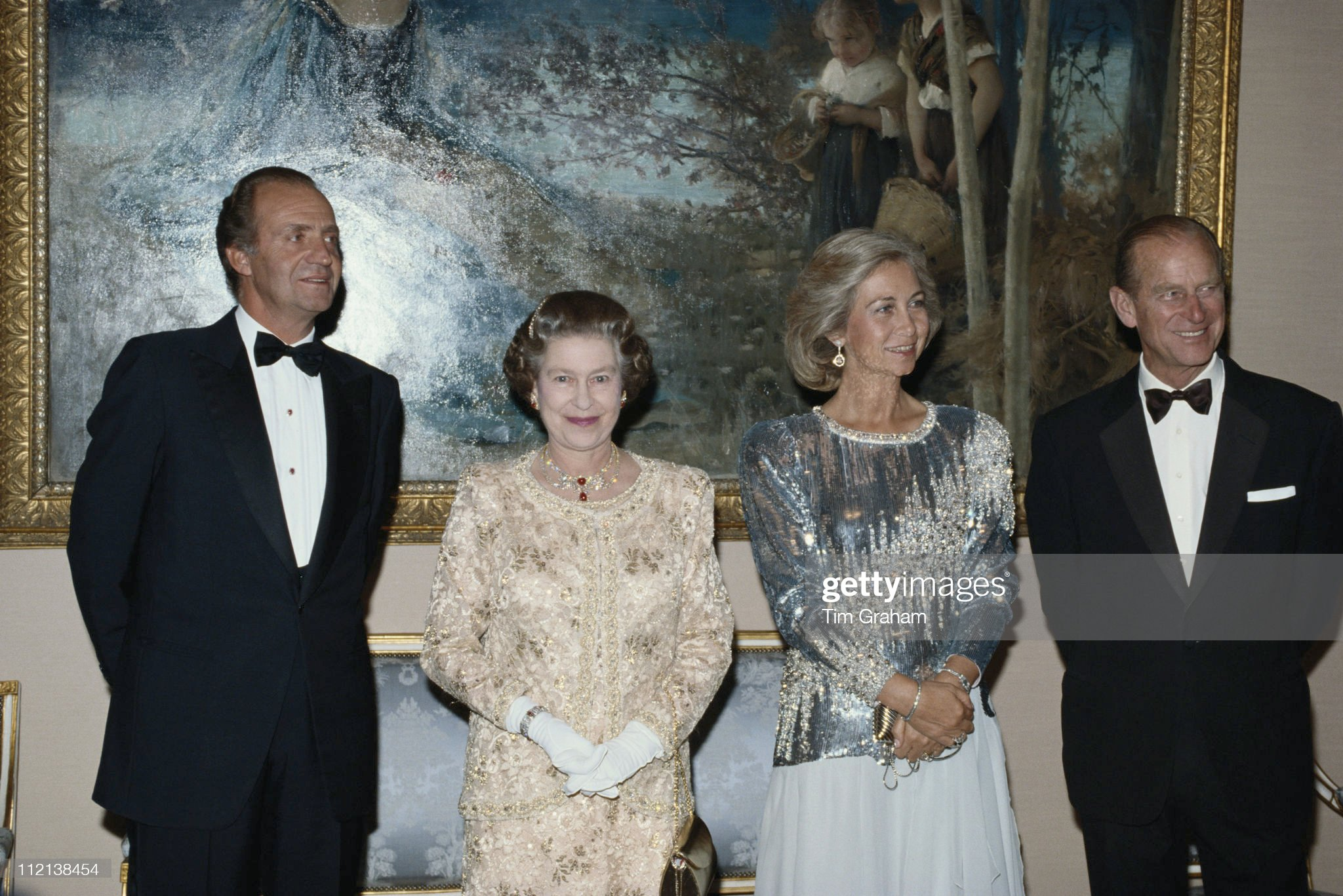 State Banquet In Spain : News Photo