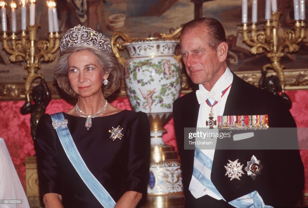 Philip And Queen Sofia Spain : News Photo