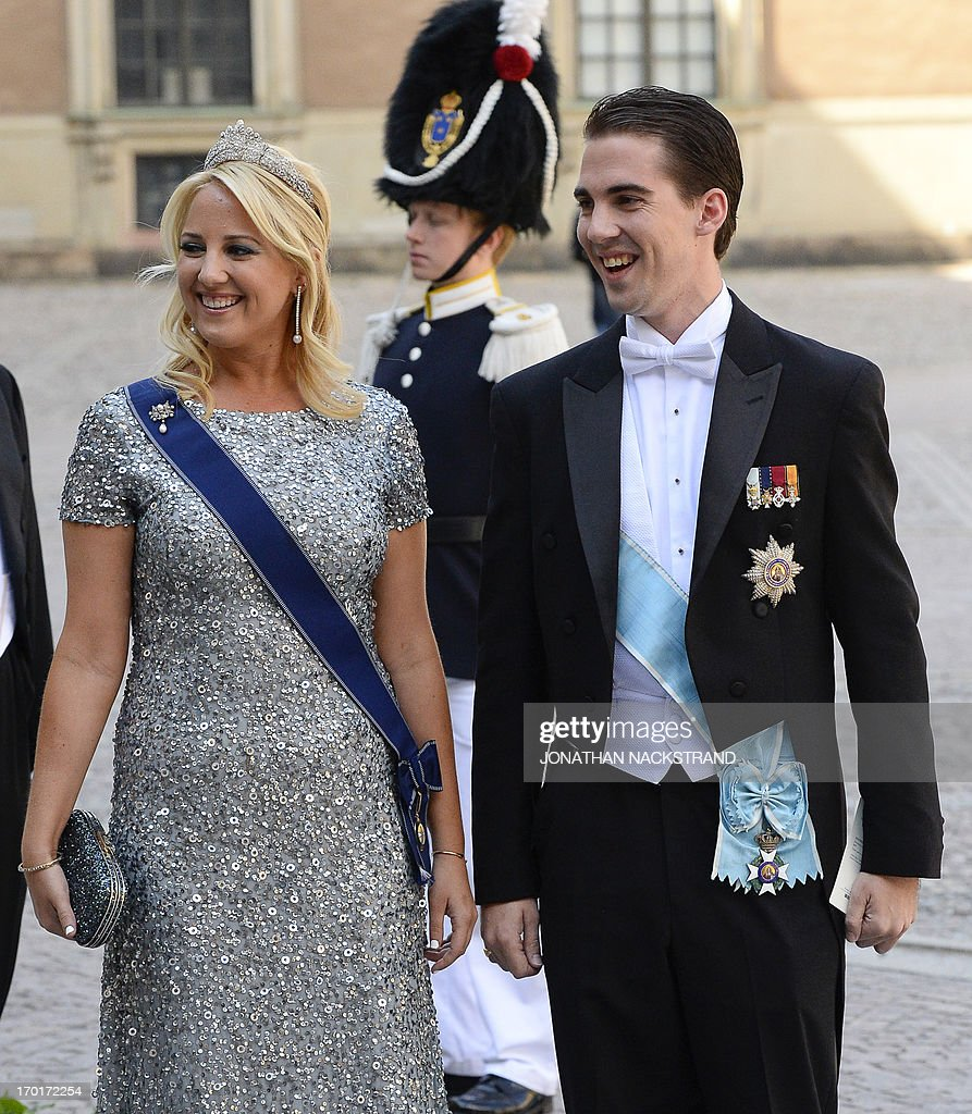 SWEDEN-ROYALS-MARRIAGE : News Photo