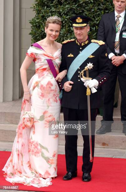 Prince Philippe and HRH Princess Mathilde of Belgium