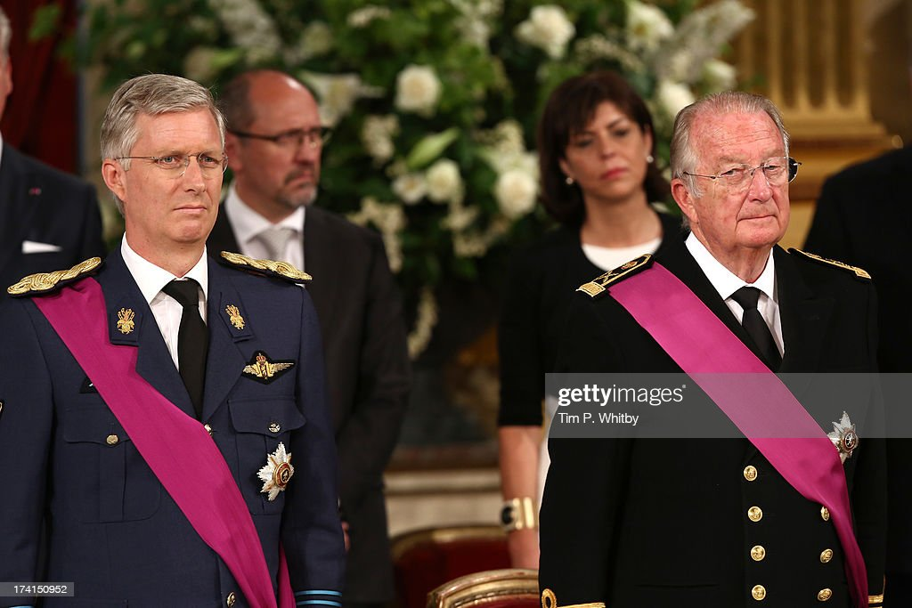 Abdication Of King Albert II Of Belgium, & Inauguration Of King Philippe