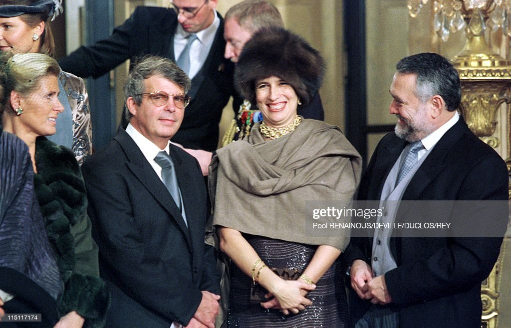 Prince Philippe of Belgium and Mathilde d'Udekem wedding in Brussels, Belgium on December 13, 1999 - Prince Alexandre and princess Esmeralda, kids of Leopold III and Liliane De Retie.
