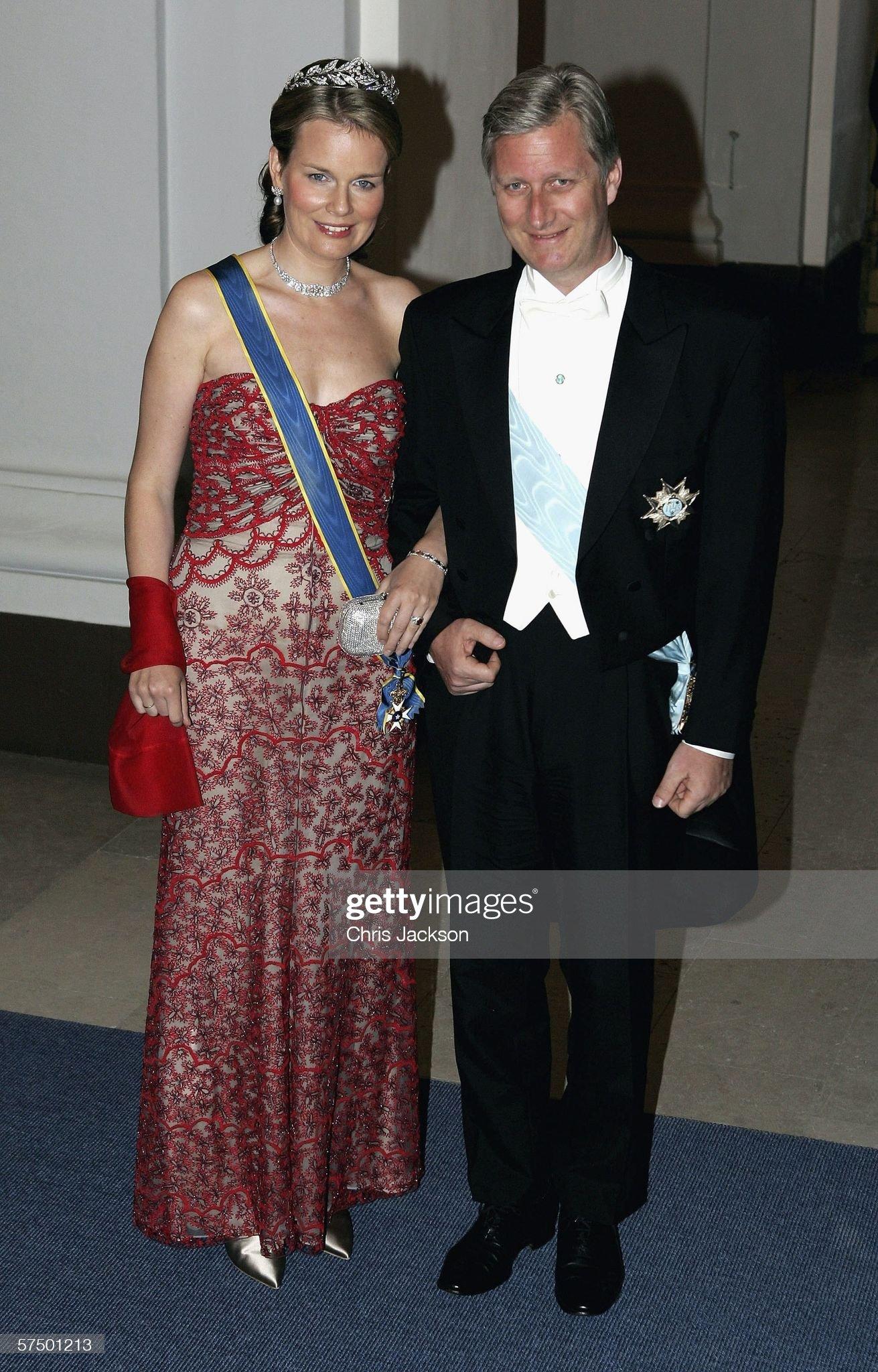 Вечерние наряды Королевы Матильды King Carl Gustaf Of Sweden Celebrates His 60th Birthday : News Photo