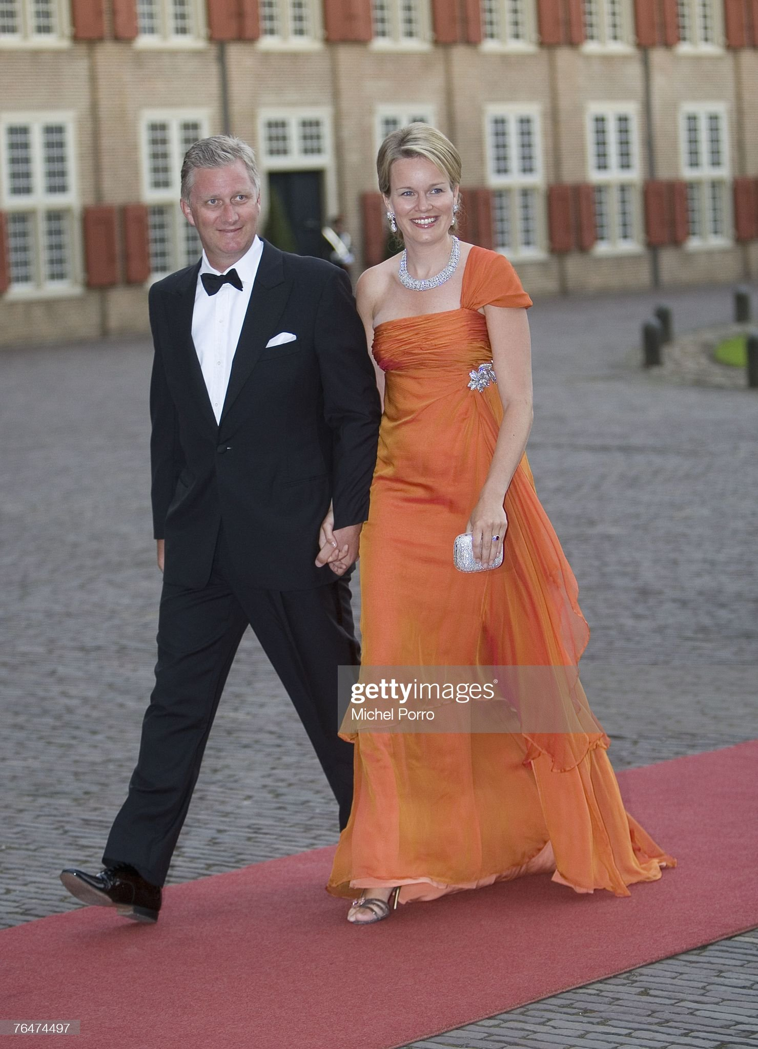 Вечерние наряды Королевы Матильды Prince Willem Alexander Of The Netherlands- 40th Birthday Party : News Photo