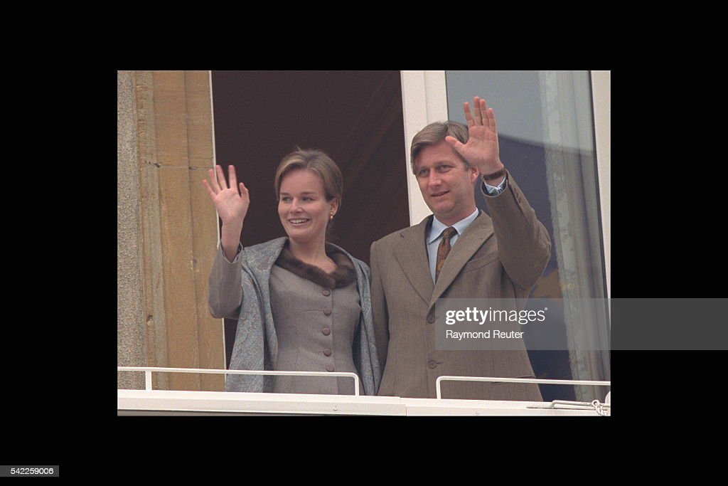 PHILIPPE OF BELGIUM & HIS FIANCEE IN LUXEMBOURG : News Photo
