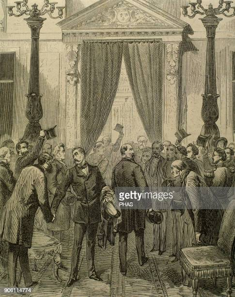 Prince Philippe of Orleans Count of Paris Orleanist pretender to the French throne from 1848 until his death Entry of the Prince in the French...