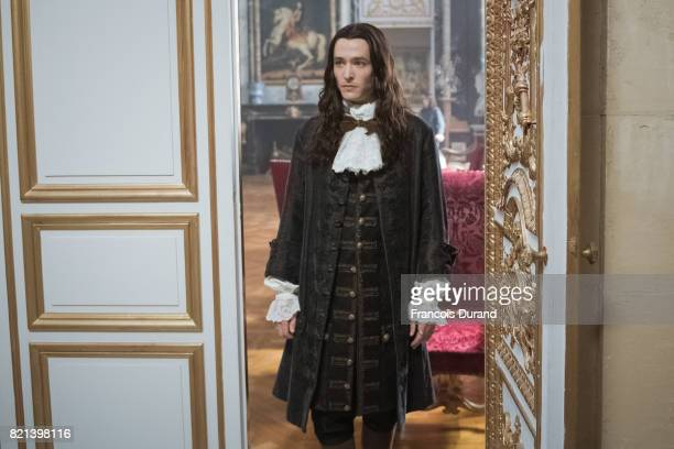 PARIS FRANCE Prince Philippe played by Alexander Vlahos makes an entrance in a scene taking place in the Grand Salon The global hit series is...