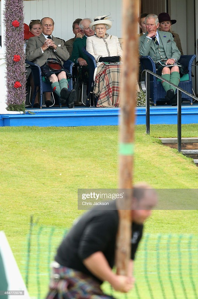 Braemar Highland Games : News Photo