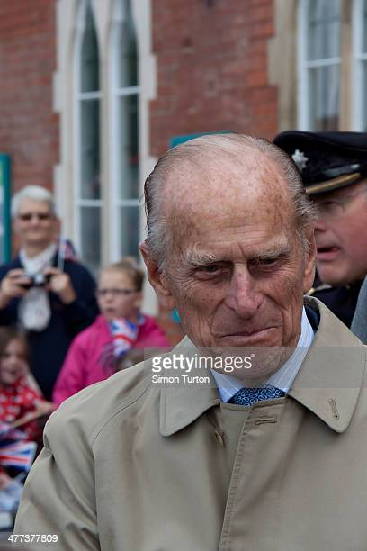 Prince Phillip taken at Hereford railway station on the jubilee tour 2012.