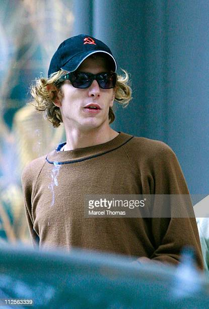 Prince Pierre Casiraghi sighting at Cipriani restaurant in SOHO on October 26 2007 in New York City
