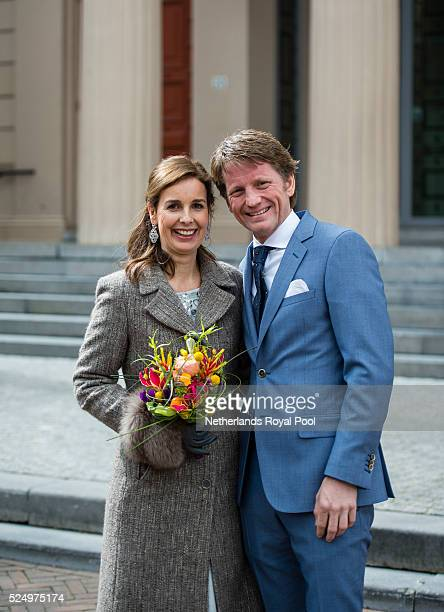 Prince Pieter Christiaan and Princess Anita of The Netherlands attend King's Day the celebration of the birthday of the Dutch King on April 27 2016...