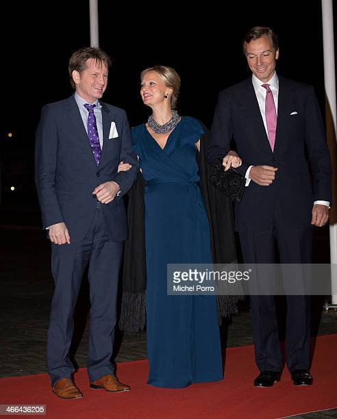 Prince Pieter Christiaan of The Netherlands Princess Carolina and Albert Brenninkmeijer attends a celebration of the reign of Princess Beatrix on...