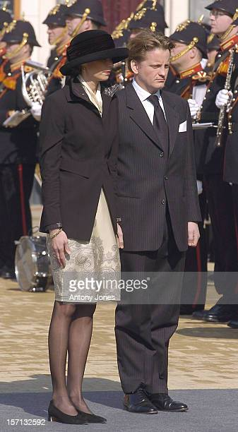 Prince PieterChristiaan Attends The Funeral Of Hrh Princess Juliana Of The Netherlands At The Nieuwe Kerk In Delft