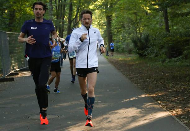 DEU: Prince Pieter-Christiaan van Oranje-Nassau Runs the Berlin Marathon