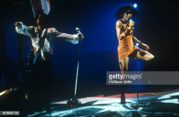 Prince plays Charlotte Coliseum during the Lovesexy tour on September 24, 1988 in Charlotte, North Carolina. 170612F1