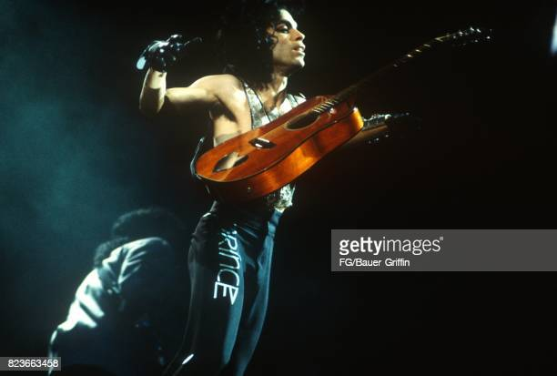 Prince plays his Lovesexy concert at Wembley Arena on August 13 1988 in London United Kingdom 170612F1