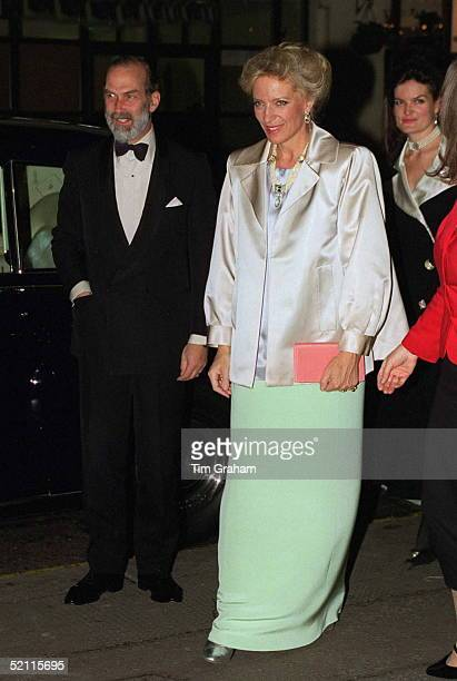 Prince Princess Michael Of Kent At A Charity Gala Performance Of 'cats' In Aid Of The Animal Help Society And The East London Animal Shelter At New...