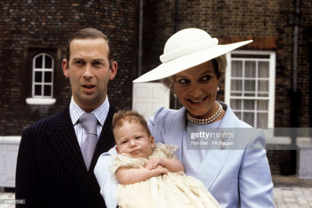 Royalty - Lord Frederick Windsor Christening : News Photo