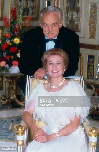 Prince Rainier and Grace of Monaco.